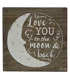 Sheffield Home Love You To The Moon And Back Box Sign