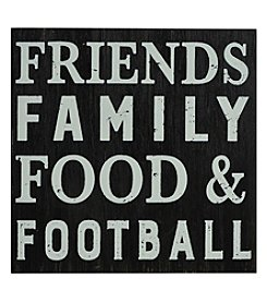 Sheffield Home Friends Family Food Football Box Sign