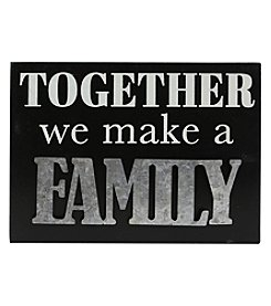 Sheffield Home Galvanized Together Family Box Sign