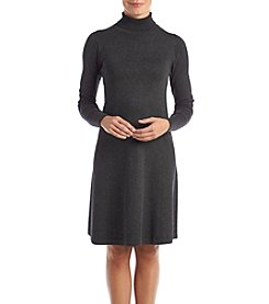 AGB Mock Turtleneck Sweater Dress