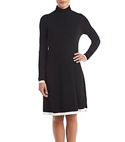 AGB Mock Neck Sweater Dress