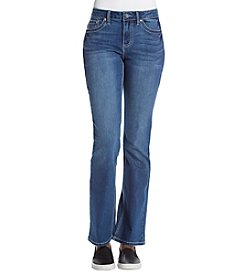 Earl Jean Embroidered Bootcut Jeans