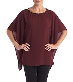 MICHAEL Michael Kors Chain Neck Poncho Blouse