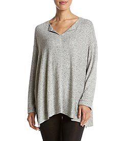 KN Karen Neuburger Long Sleeve Knit Tunic