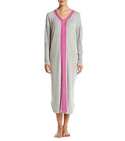 KN Karen Neuburger Long Sleeve Knit Maxi Nightgown