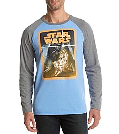 Mad Engine Men's Star Wars Trilogy Raglan Tee