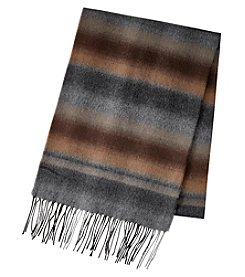 John Bartlett Ombre Striped Scarf
