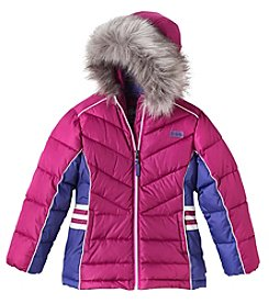 Hawke & Co. Girls' 4-6X Puffer Jacket
