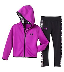 Under Armour® Girls' 2T-6X Hoodie And Pants Set