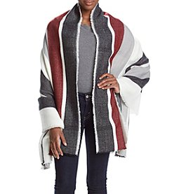 Vince Camuto® Picket Fence Stripe Wrap