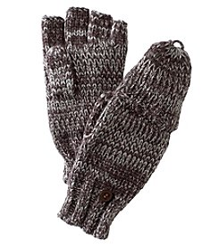 Ruff Hewn Cable Flip Gloves