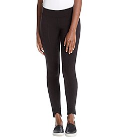 HUE® Mesh Trim Leggings