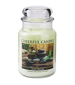 A Cheerful Giver 24oz Just Relax Candle