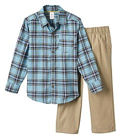 Carter's Boys' 2T-4T 2 Piece Long Sleeve Knit Top and Pants Set