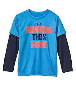 Under Armour Boys' 4-7 Long Sleeve Running This Game Trr