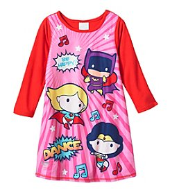 Komar Kids® Girls' 2T-4T Justice League Sleepwear