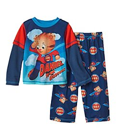 Komar Kids Boys' 2T-4T 3 Piece Daniel Tiger Pajama And Cape Set