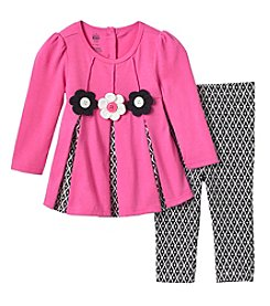 KHQ Baby Girls' 2 Piece Top And Leggings Set