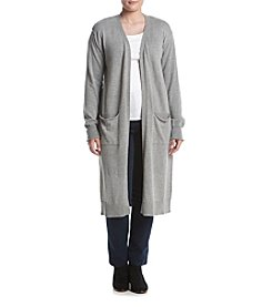Hippie Laundry Plus Size Long Sleeve Duster