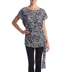 MICHAEL Michael Kors® Big Cat Side Tie Top