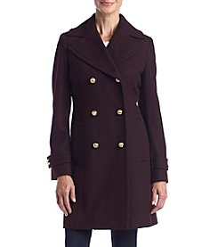 MICHAEL Michael Kors® Button Neck Notch Collar Jacket