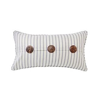 laura henry stripe decorative pillow