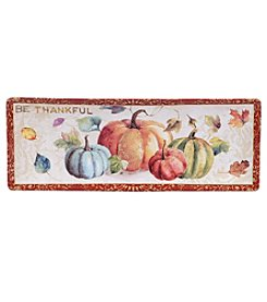 Certified International by Lisa Audit My Fall Inspiration Rectangular Bread Tray