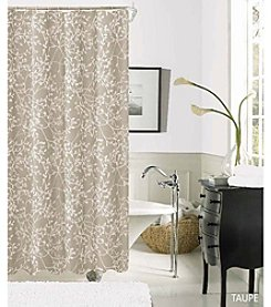 Dainty Home Willow Fabric Shower Curtain