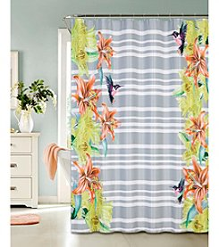 Dainty Home Hummingbird Shower Curtain