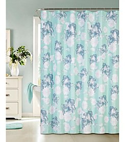 Dainty Home Floral Charm Shower Curtain