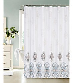Dainty Home Fresco Medallion Shower Curtain