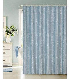Dainty Home Clara Faux Embroidery Shower Curtain
