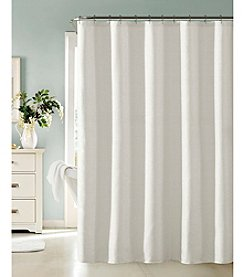 Dainty Home Little Rock Shower Curtain with Lurex
