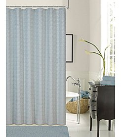 Dainty Home Kingston Jacquard Woven with Shrink Yarns Shower Curtain