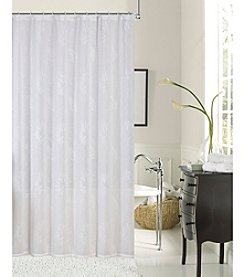 Dainty Home Rebecca Embroidered Shower Curtain