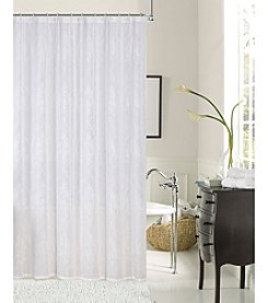 Dainty Home Elizabeth Embroidered Shower Curtain