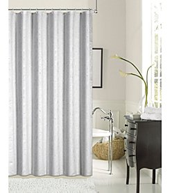 Dainty Home Lisbon Shrink Yarn Fabric Shower Curtain