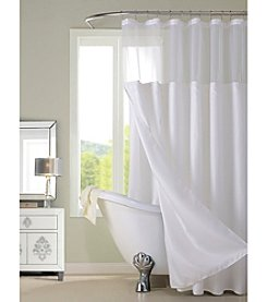 Dainty Home Complete Shower Curtain with Detachable Liner