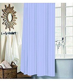 Dainty Home Mist Stripe 13-Piece Shower Curtain Set