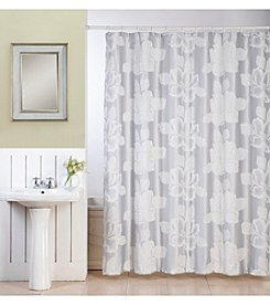 Dainty Home Flower Shower Curtain