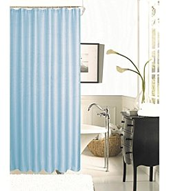 Dainty Home Hotel Collection Spa 251 Waffle Weave Shower Curtain