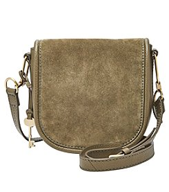 Fossil® Rumi Small Mixed Leather Crossbody
