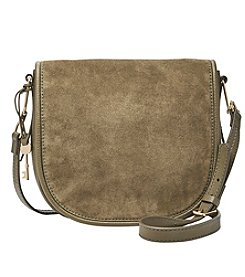Fossil® Rumi Large Mixed Leather Crossbody