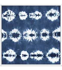 Artissimo Designs Indigo Tiles III Canvas Wall Art