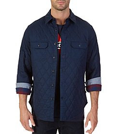 Nautica® Men's Quilted Twill Long Sleeve Shirt