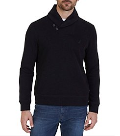 Nautica Men's Nautica Shawl Collar Sweater