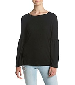Kensie® Bell Sleeve Knit Top