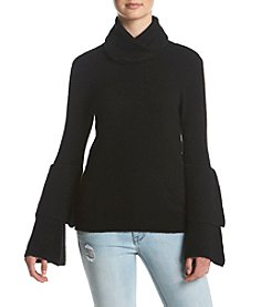 Kensie® Double Bell Sleeve Sweater
