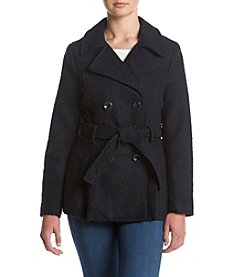 Rampage® Jessica Belted Peacoat
