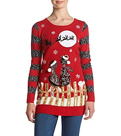 Love Always Cats On Fence Christmas Sweater
